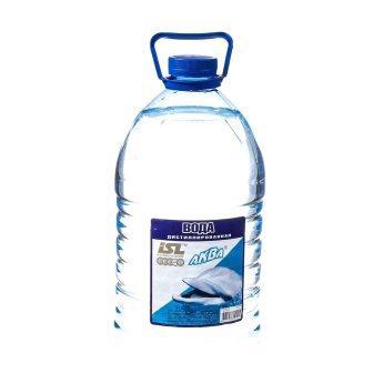 Дистилированная вода