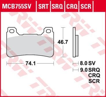 MCB755SV
